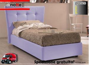 Immagine di LETTO IMBOTTITO CONTENITORE BETTY SINGOLO RE/055