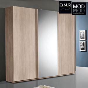 Immagine di Armadio MCS Easy ARM045 3 Ante Scorrevoli in Legno con Specchio Vari Colori