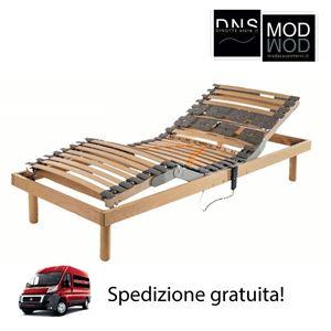 Immagine di Rete in legno Edda Deluxe con motore compatto Dispositivo Medico